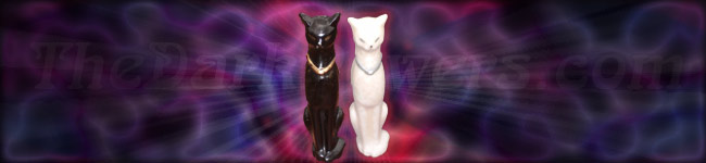 egyptian cat candles